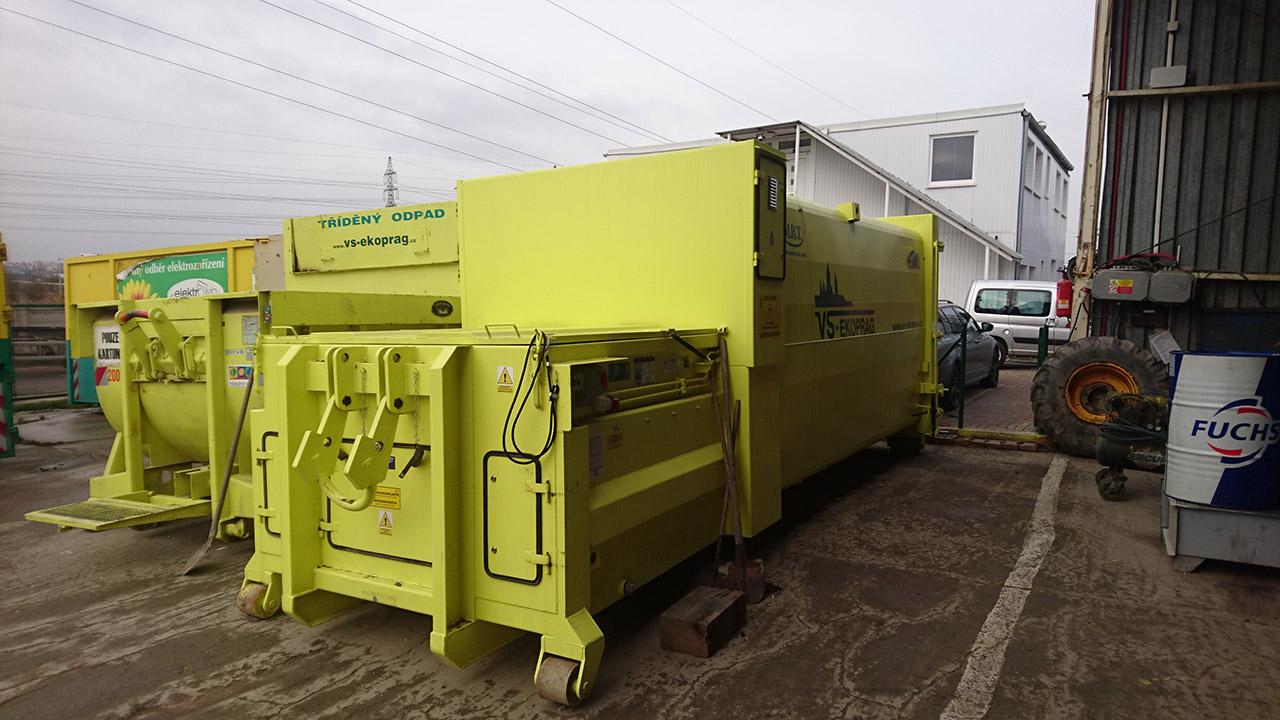 Lisovací kontejnery - VS EKOPRAG s.r.o.